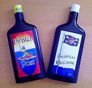 Flaschenpost für die Piraten