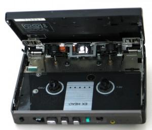 Innenleben des Sony WM-EX50