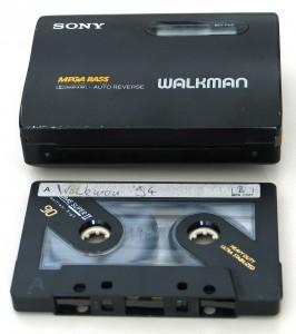 Sony WM-EX50 und Kassette