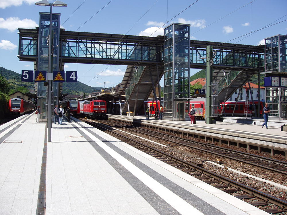 Neustadt an der Weinstraße Hauptbahnhof