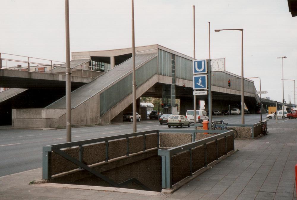 U-Bahn Station Nürnberg/Muggenhof