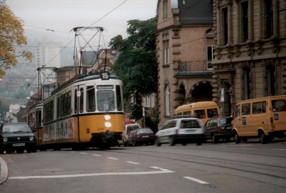 Linie 15 am Eugensplatz