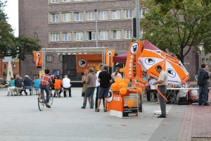 Küchengarten in Linden am 3. September: Überall Piraten