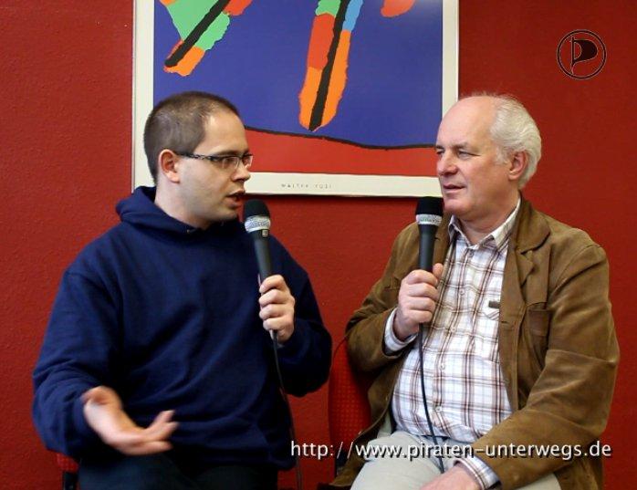 Dirk und Reiner diskutieren über das sogenannte Leistungsschutzrecht