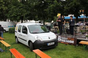 Neues Fahrzeug mit rein elektrischem Antrieb