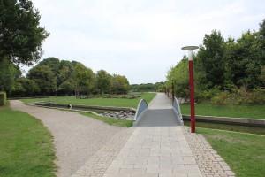 Parkanlage an Tårnby: Grün statt Straße