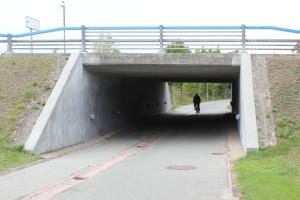 Fuß- und Radwegunterführung unter der Amager Landevej