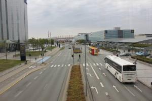 Ellehammersvej am Flughafenterminal 3