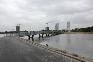 Øresundsstien am Nordende des Amager Strandpark