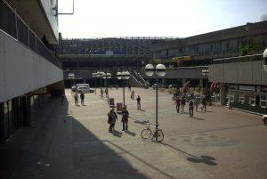 Problembereich Raschplatz, hier im Jahr 2003 vor dem letzten Umbau