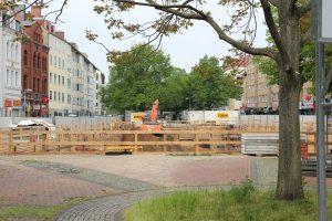 Marstall: Umfangreiche Neubauten in ehemals öffentlichem Raum