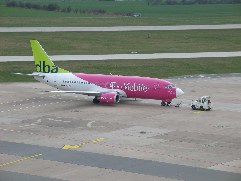 Pushback am Flughafen Langenhagen, 2006