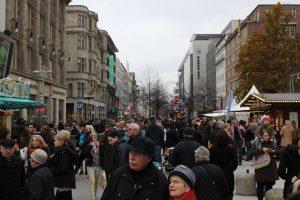 Hannoversche Innenstadt: Beliebt vor allem bei Alt, nicht so sehr bei Jung