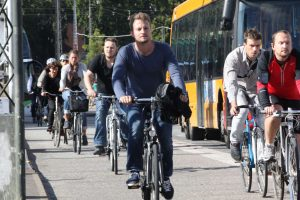 Dichter Fahrradverkehr (hier in Kopenhagen): So kommt man in die Innenstadt!