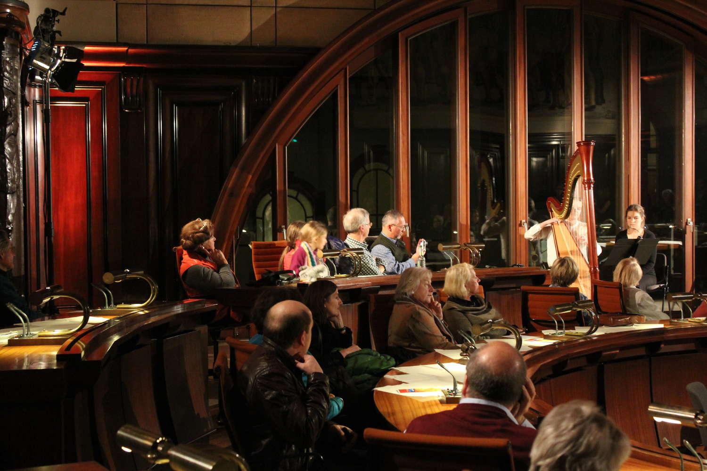 Hodlersaal beim Neujahrsempfang im Rathaus, Hannover, 2014