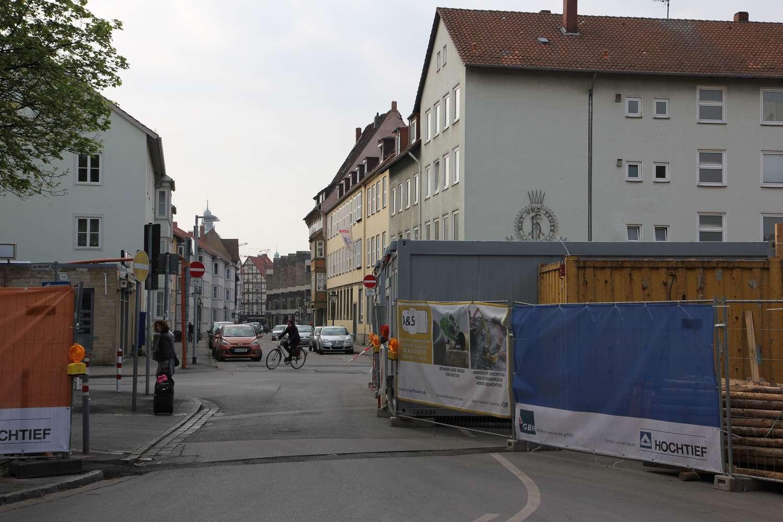 Am Marstall/Burgstraße, Hannover, 2016