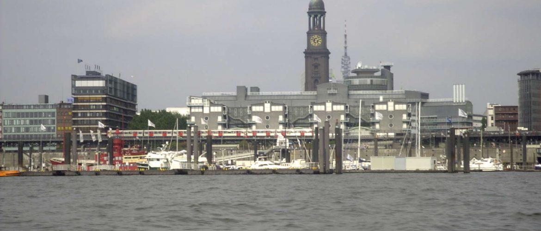 Hafenpanorama, Hamburg, 2003