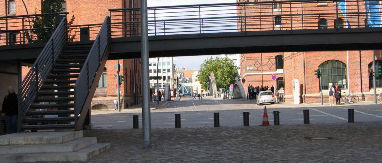 """Speicherstadt Höhe """"Auf dem Sande"""", Hamburg, 2009"""