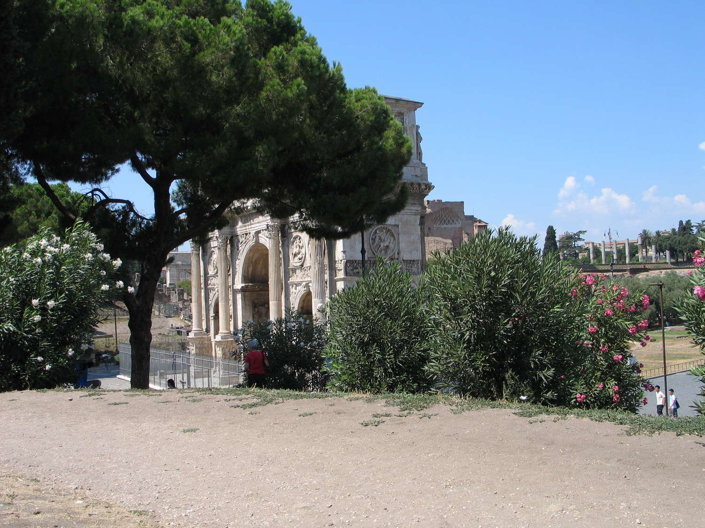Konstantinsbogen, Rom, 2009