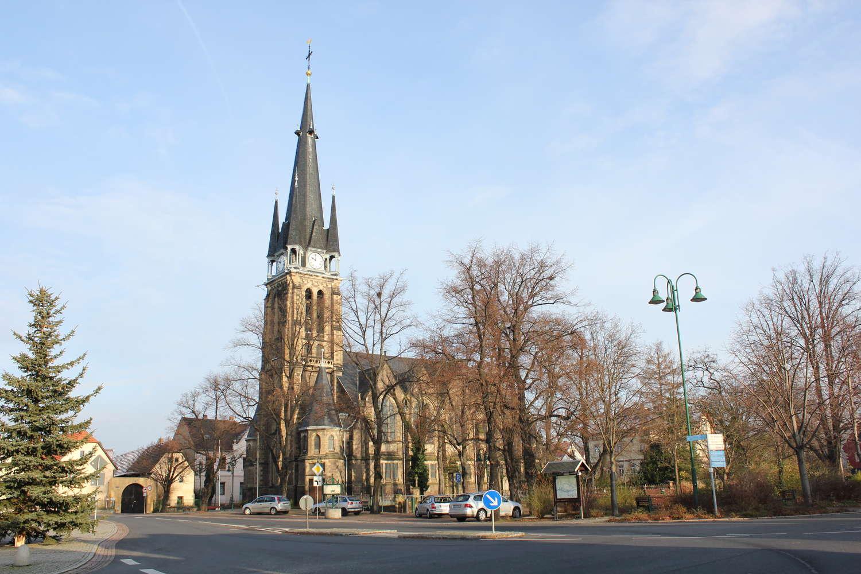 St. Martinskirche, Weinböhla, Sachsen, 2011