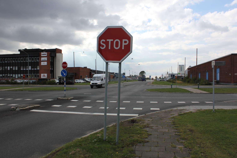 Kreuzung Blidögatan/Flintränngatan, Malmö, Schweden, 2013