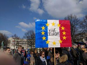"""""""Vive L'Europe"""" - noch eine französische Plakatbotschaft"""