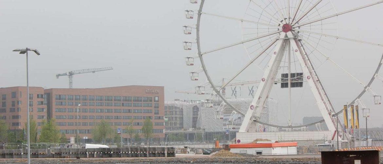 Blick vom Unileverhaus nach Westen, Hamburg, Hafen-City, 2013