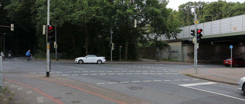 Kreuzung Salzburger/Adolf-Ey-/Mainzer/Wolfstraße, Hannover, 2016