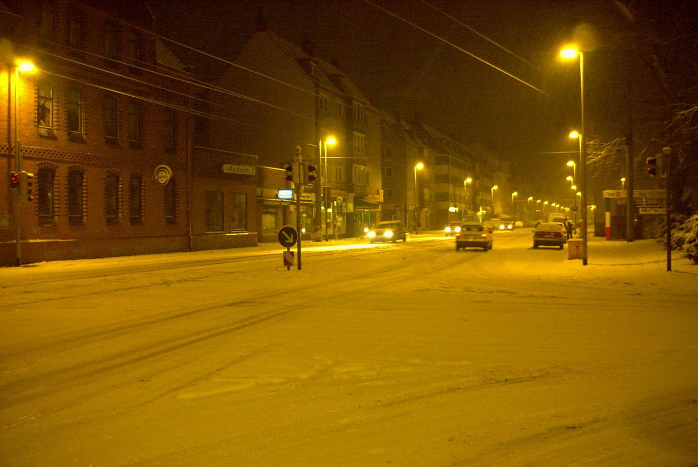 Ricklinger Stadtweg Ecke Pfarrstraße, Hannover, 2000