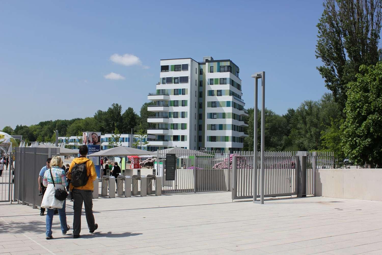 Waterhouse vom igs-Eingang aus gesehen, Hamburg, 2013