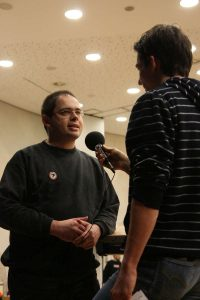 Interview am Rande des Landesparteitags Herbst 2009