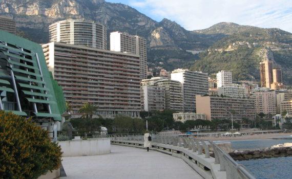 Uferpromenade am Kongresszentrum, Monte Carlo, Monaco, 2006