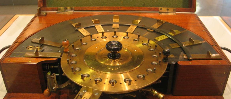 Rechenmaschine im Heinz-Nixdorf-MuseumsForum, Paderborn, 2008