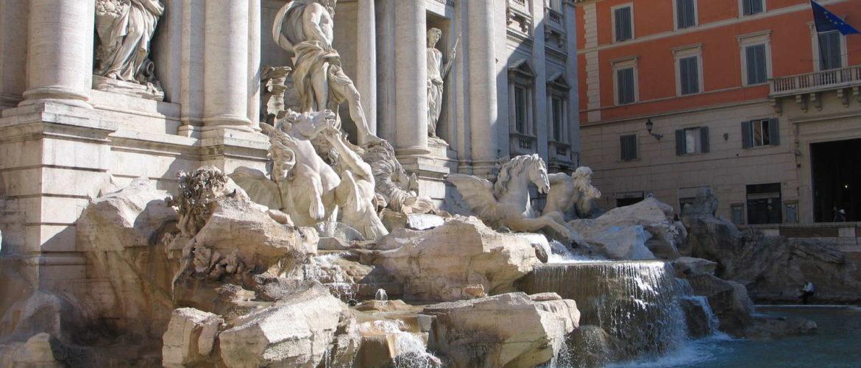 Fontana di Trevi, Rom, 2009