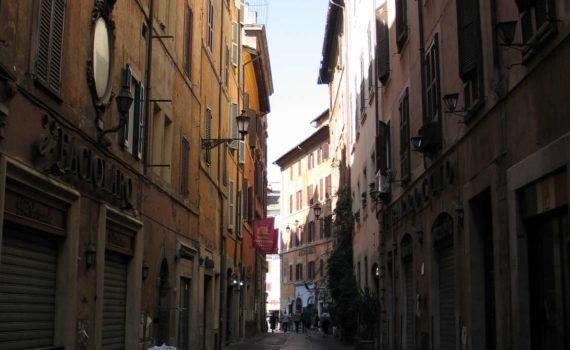 Via dei Pastini, Rom, 2009