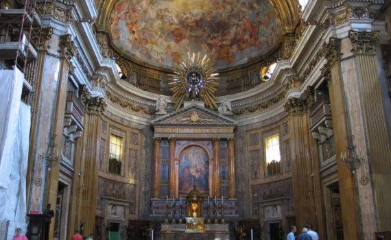 Chiesa del Gesù, Rom, 2009