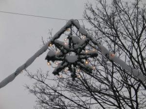 Weihnachtsdekoration in der Lister Meile, Hannover, 2010