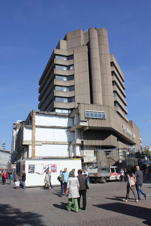 Turm des Kröpckecenter, Hannover, 2011