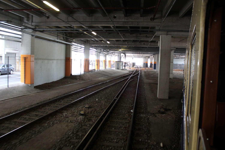 Nordhafen Verbindungsgleise Kanal-Bahnhof, Nordhafen, Hannover, 2013