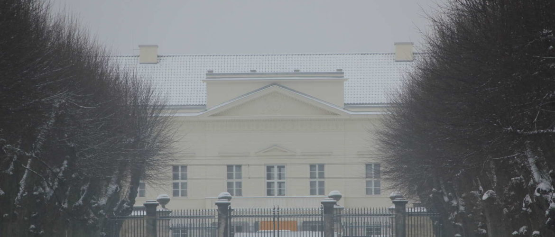 Berggartenallee und Schloss Herrenhausen, Hannover, 2013
