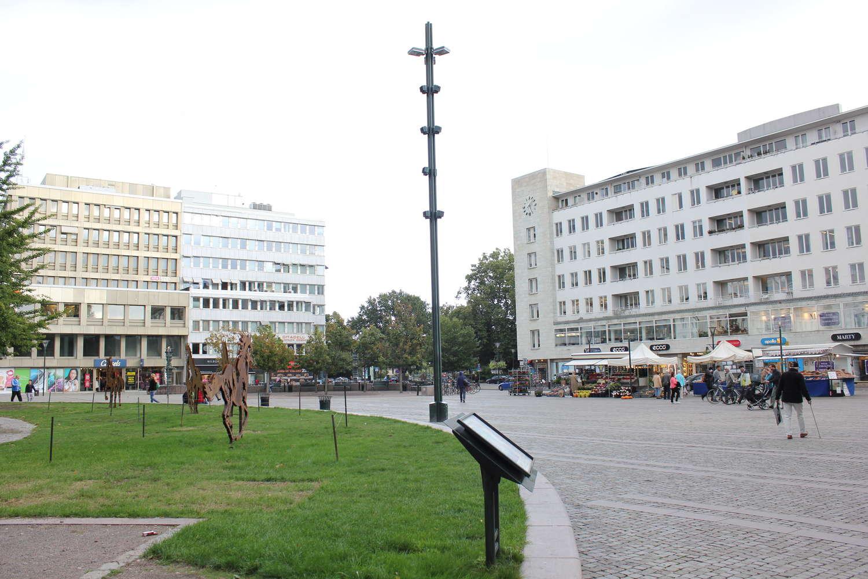 Gustav Adolfs torg, Malmö, 2013
