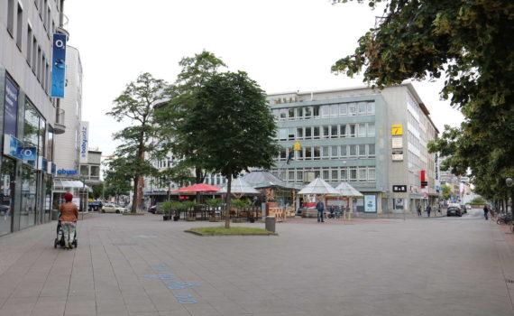 Straßenachse Schillerstraße, Hannover, 2016