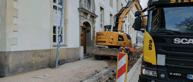 Am Hohen Ufer, Umbau des 1. Bauabschnitts, Hannover, 2017