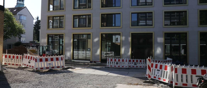 Am Marstall Nordseite von üstra-Einfahrt aus gesehen, Hannover, 2018