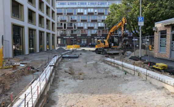 Burgstraße bei Am Marstall, Hannover, 2018