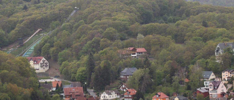 Wernigerode vom Schlossplatz aus gesehen, 2019