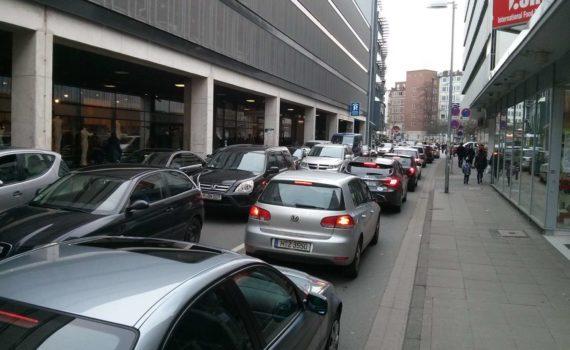 Attraktive Innenstadt? Andreaestraße, 2014