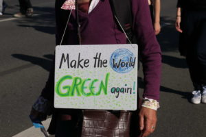 Make the world green again