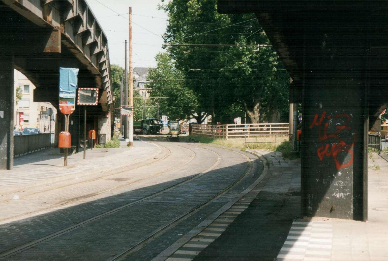 Haltestelle Aegidientorplatz, Hannover, 1998