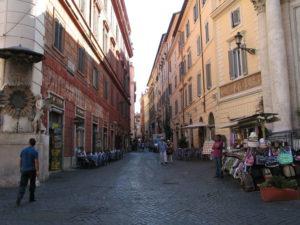 Via del Lavatore, Rom, 2009